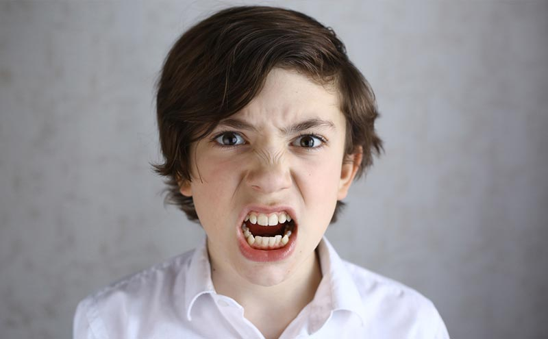 What to do when: A child often throws fits of anger